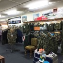 About Davos - inside store, clothing