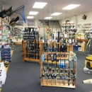 About Davos - inside store, fishing equipment